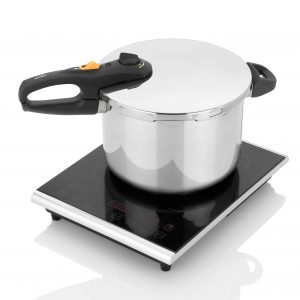 induction cooktop with pressure cooker