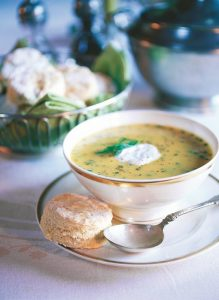 Broccoli Vegetable Cheese Soup (Recipe)