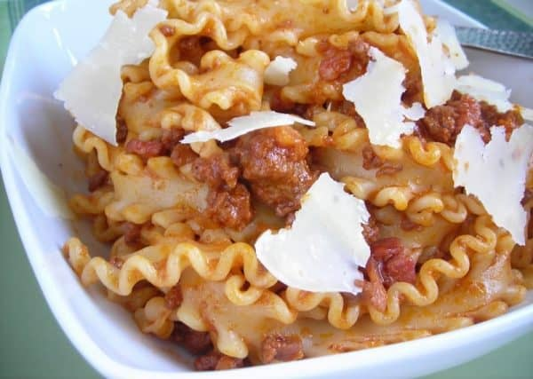 Quick Ragu (Recipe)