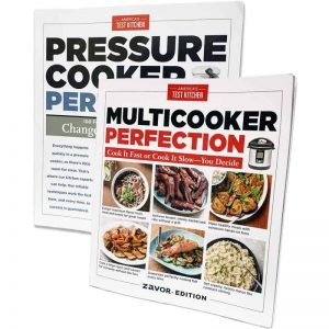 Americas Test Kitchen Books - Zavor Special Edition