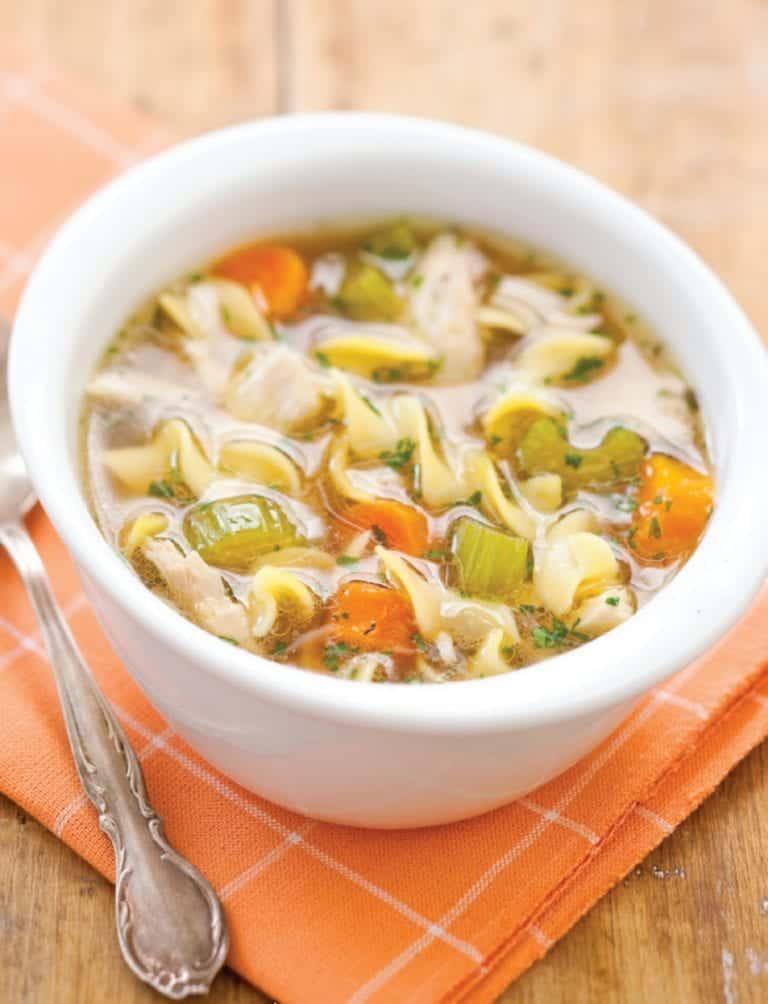 Farmhouse Chicken Noodle Soup (Recipe)