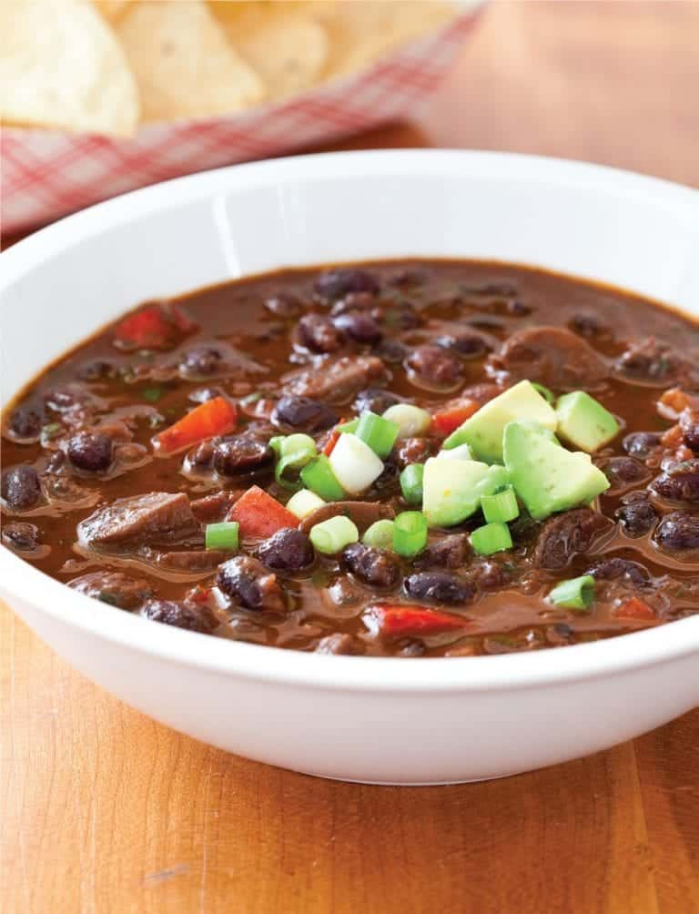 Vegetarian Black Bean Chili (Recipe)