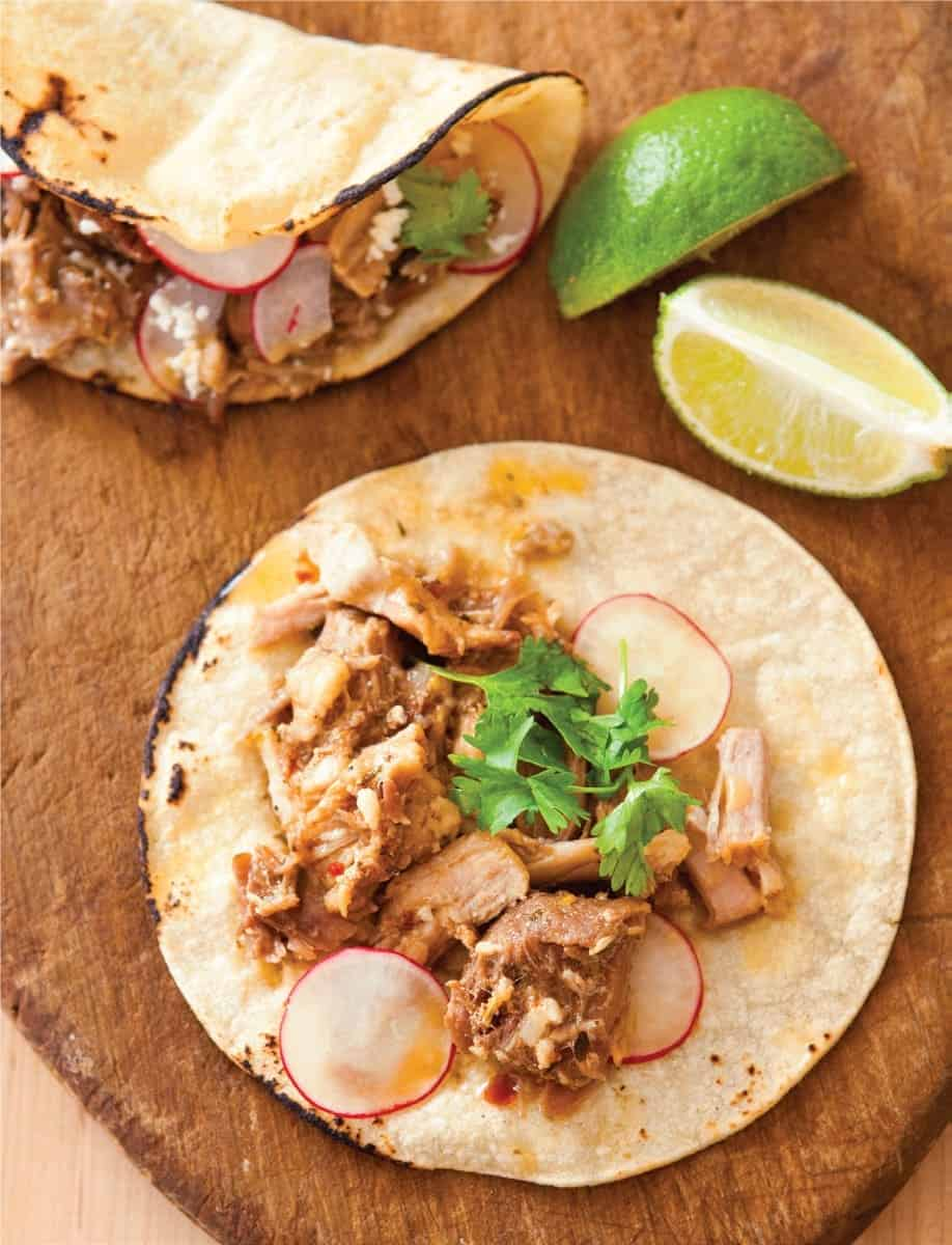 Shredded Pork Soft Tacos (Recipe)