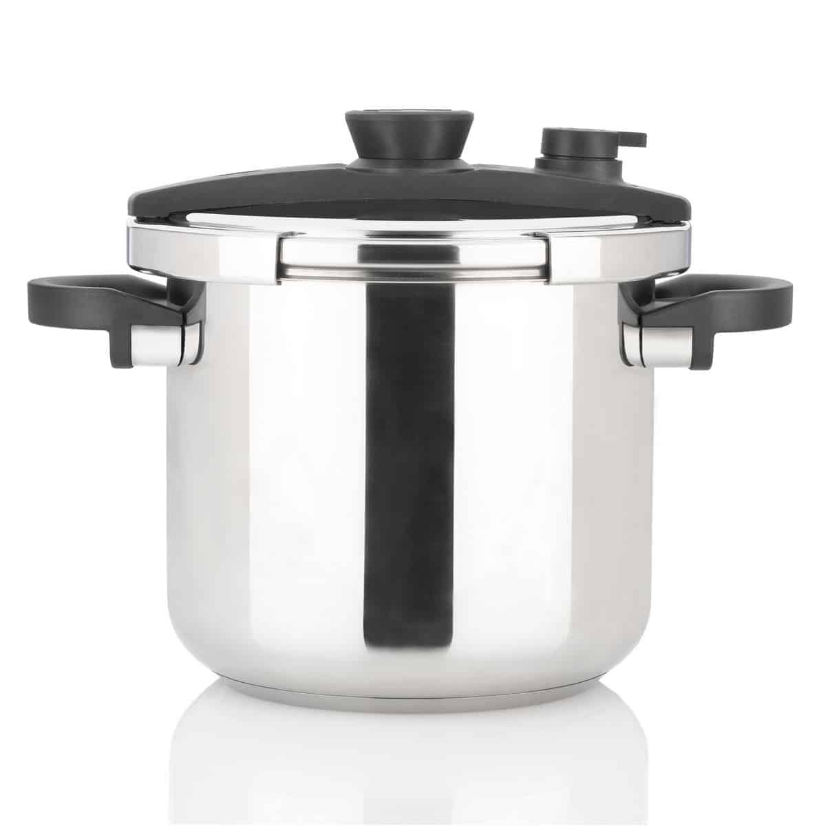 Induction Ready 4 Quart Pressure Cooker Canning  Professional Quality