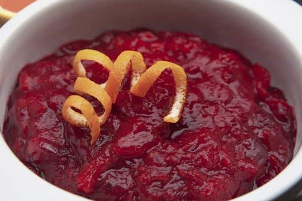 Grapefruit Scented Cranberry Sauce