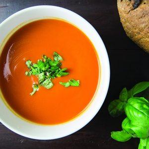 Saffron Tomato Soup