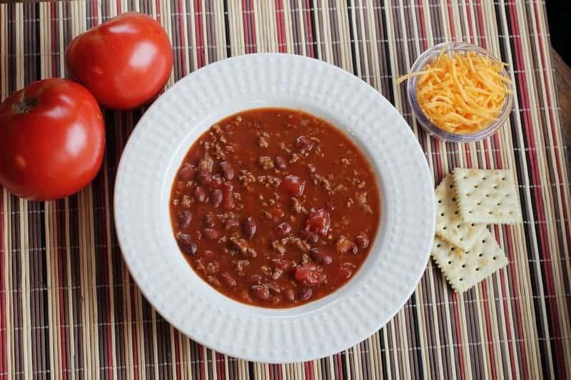 Spicy Chili Con Carne
