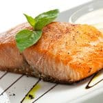 Steamed Salmon Filets
