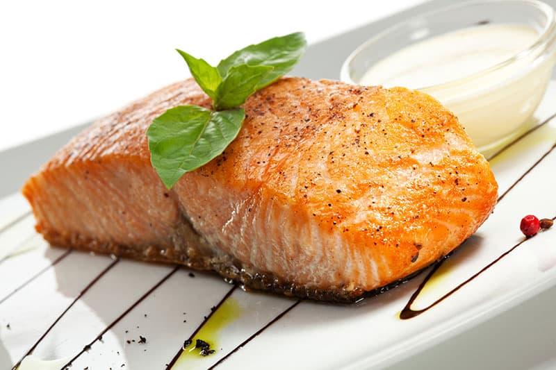 Steamed Salmon Filets