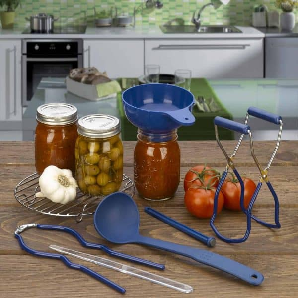Home Canning Kit Lifestyle - Veggies