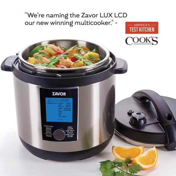 LUX LCD Best Multicooker by Americas Test Kitchen