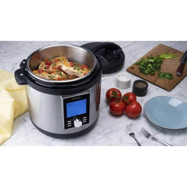LUX LCD Multicooker with Chicken Breast