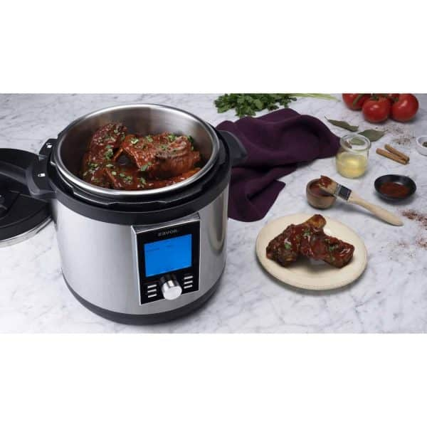 LUX LCD Multicooker with Ribs
