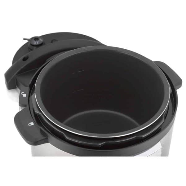 Select Pressure Cooker open lid