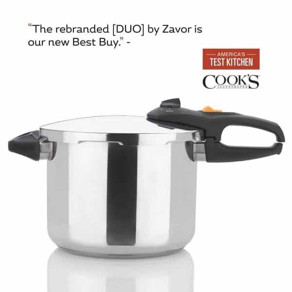 DUO Best Buy Stovetop pressure cooker by America's Test Kitchen