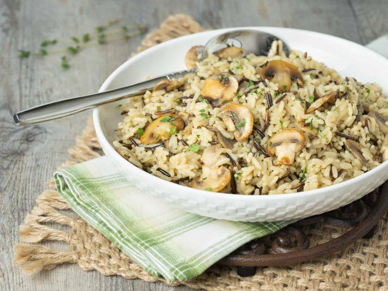 Herbed Mushroom Rice