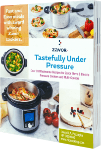 Tastefully Under Pressure Cookbook