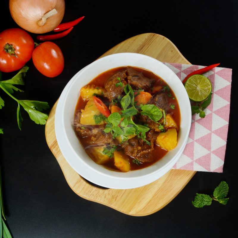 Canned Vegetable Beef Stew