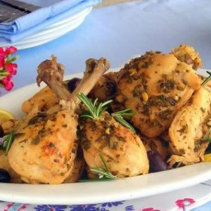 Ligurian Lemon Chicken