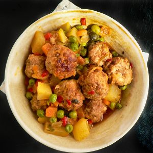 Everyone's Favorite Meatball Stew