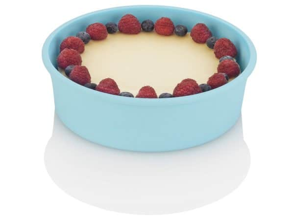 Silicone Baking Dish with food