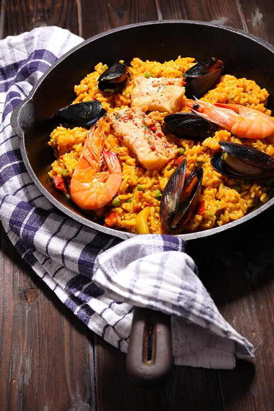 Spanish Style Paella
