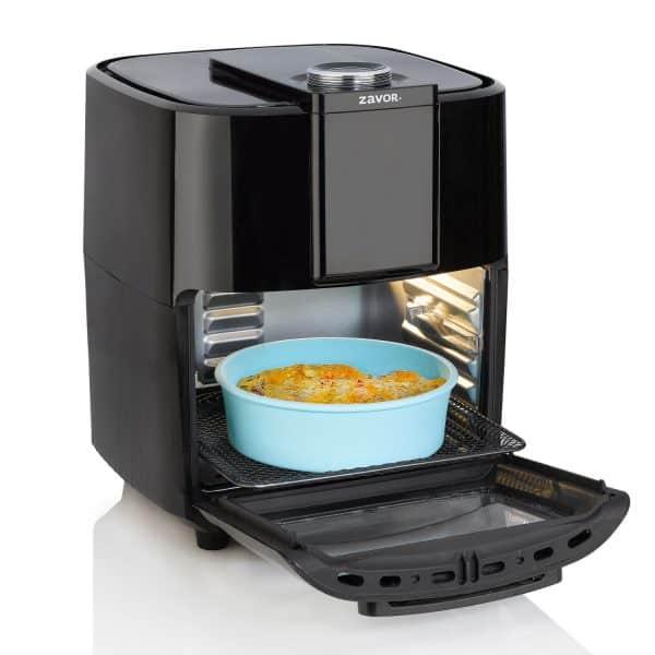 ZACMIDI22 Silicone Baking Dish inside Crunch Air Fryer