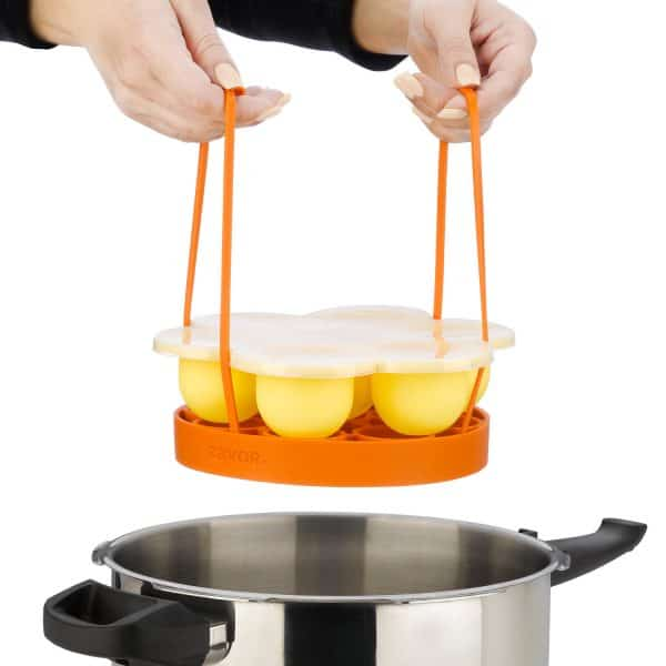 ZACMIMO22 Silicone Egg Bites Mold with cooking rack