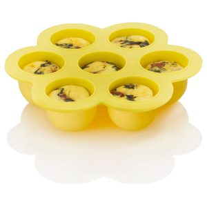 ZACMIMO22 Silicone Egg Bites Mold with food