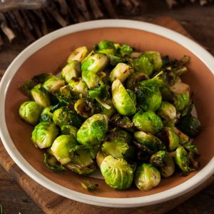 Homemade Roasted Brussel Sprouts