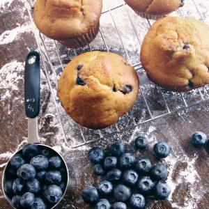 Blueberry Muffins 1