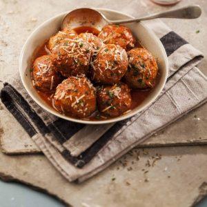 Mini Italian Style Meatballs 1