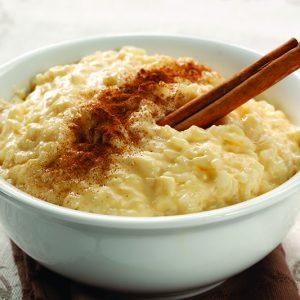 Coconut-Cinnamon Rice Pudding