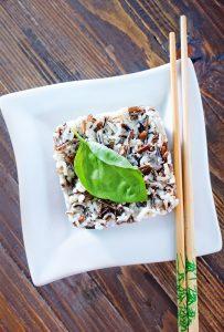 Black and White Rice