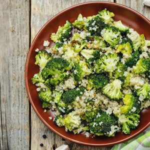 Quinoa with Broccoli