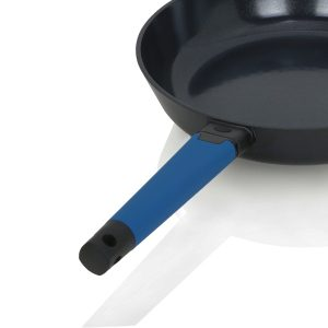 12in skillet - Royal Blue handle
