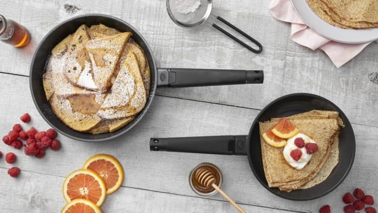 8in 10in skillet set lifestyle
