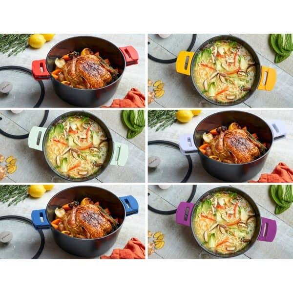 Dutch Oven 7Qt Color Collage