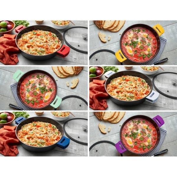 Saute Pan 6Qt Color Collage