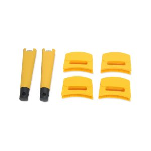 ZSPCWHH46 - 6pc Handle Set, Butternut