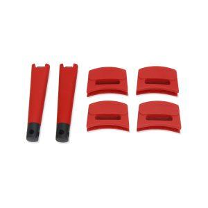 ZSPCWHH48 - 6pc Handle Set, Red