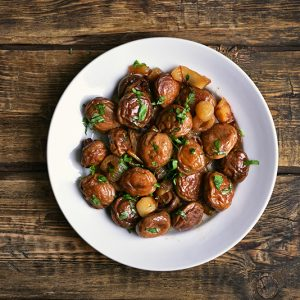 Garlic Mushrooms Tapa
