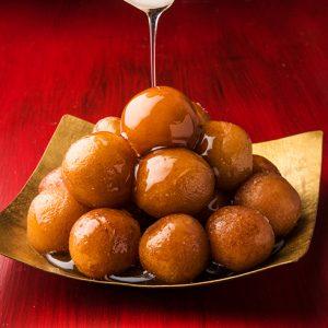 Middle Eastern Vegan Donut Holes (Zalabia)