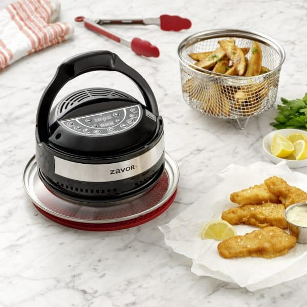 Air Fryer Lid Lifestyle - Fish and Chips