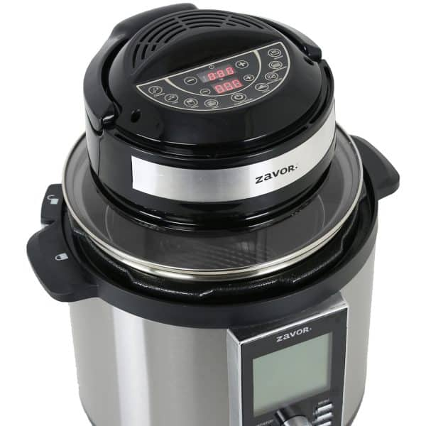 Air Fryer Lid on LUX LCD