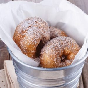 Cinnamon Sugar Donut 1