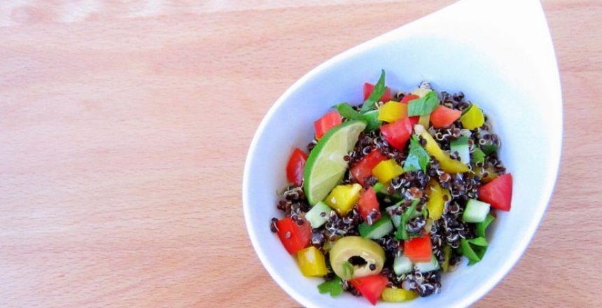 1-minute quinoa (Recipe)