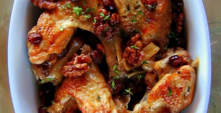 Cranberry Braised Turkey (Recipe)