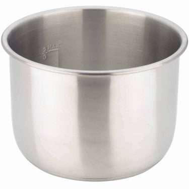 Removable Cooking Pot, 8Qt, Stainless Steel (ZSPSERP24)